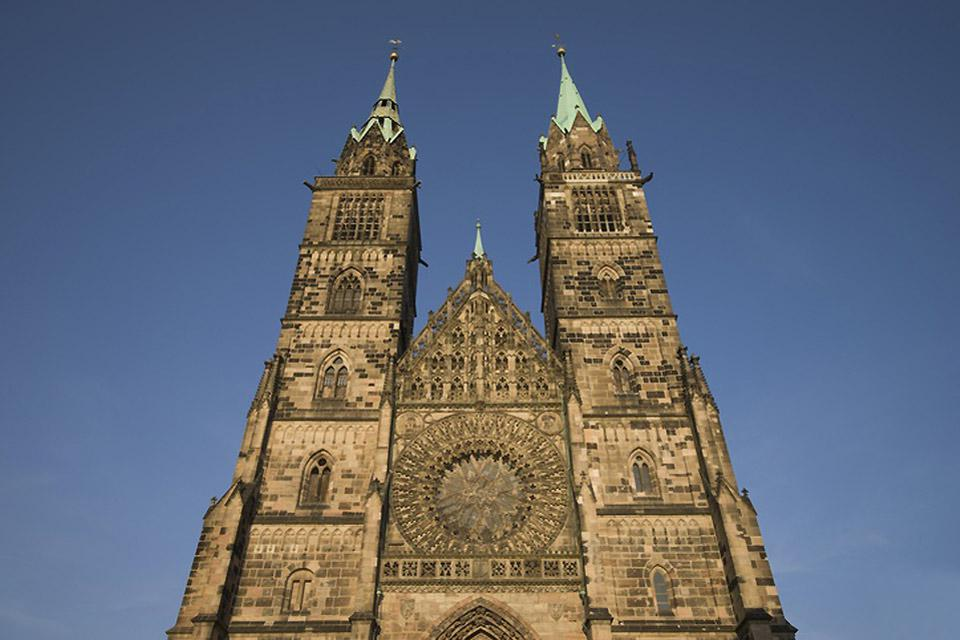 This Gothic church features two towers which are an impressive 81 metres high!