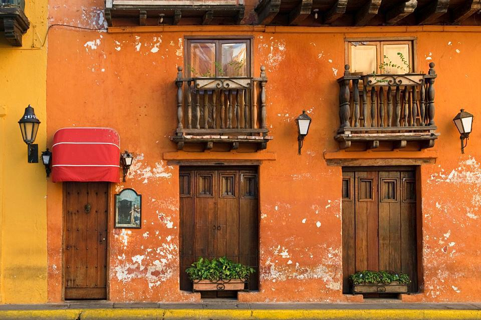 A city once inhabited by pirates, Cartagena still boasts many colourful buildings.