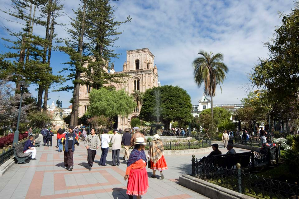 Cuenca's historical centre is listed as a UNESCO World Heritage Site.