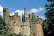 Le Château de Cardiff, un des attractions touristiques les plus importantes, date de 2000 ans.
