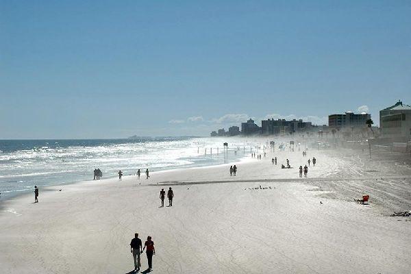 Daytona Beach est la plus développée des villes balnéaires de la côte est de la Floride.