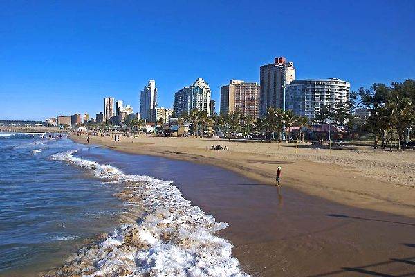 The city of Durban is located in the KwaZulu-Natal province.