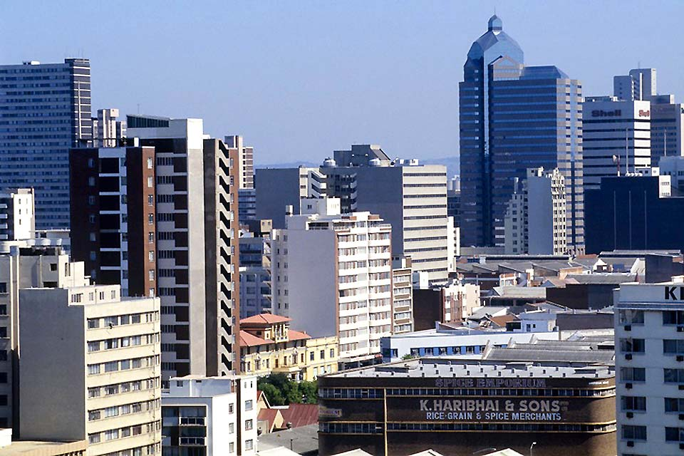 Durban is an industrial city renowned notably for its sugar refineries and its Toyota automobile manufacturing plant.