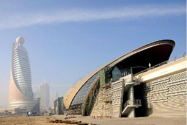 Dubai's metro system took a while to build but is now complete and lines Sheikh Zayed Road from north to south of the city.