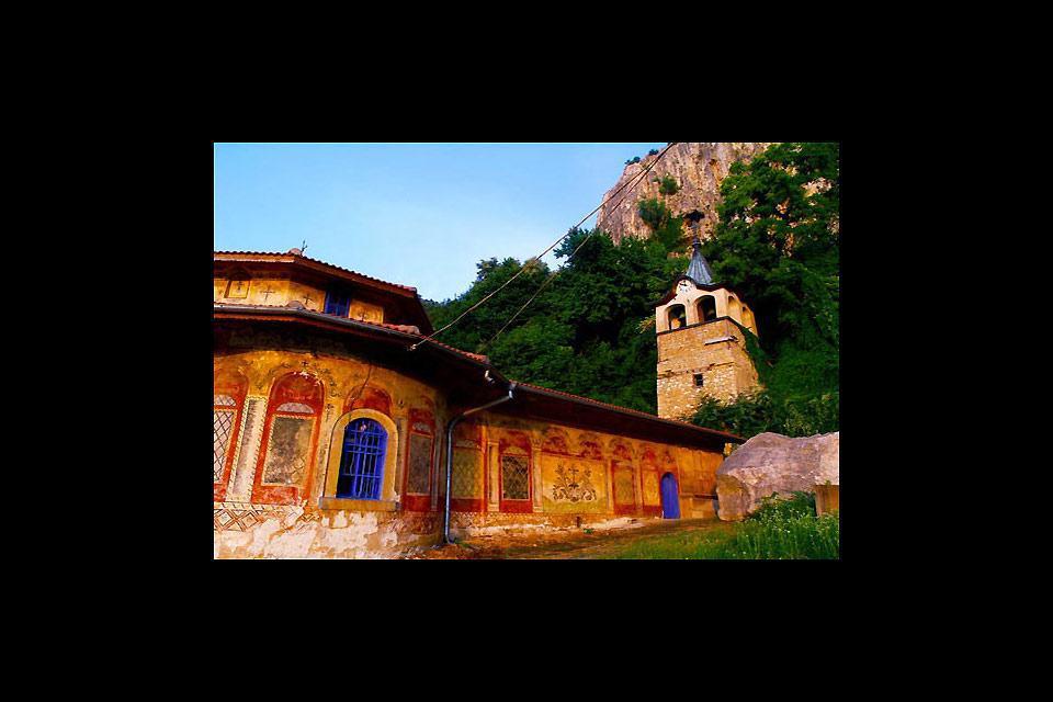 Das Preobrajenski Kloster in Veliko Tarnovo ist einen Besuch wert