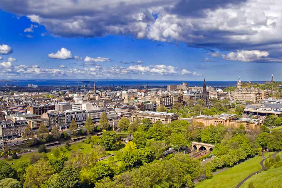 "Edinburgh, sometimes called the ""the Athens of the North,"" is Scotland's most beautiful city, combining both ancient and modern in a uniquely Scottish atmosphere, where medieval palaces rub shoulders with the best of modern architecture. The Old Town is the medieval heart of the city, and home to most of the important historical sites, including the Edinburgh Castle, the symbol of the city, where the ..."