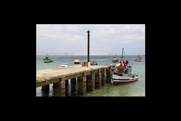 Like in any fishing port, the pier plays a central role in the life of the locals. Especially just before midday when the fishermen come back from the sea.