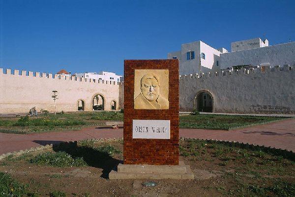 Orson Welles è stato ospite di Essaouira dal 1949 al 1952, in occasione delle riprese dell'Otello.