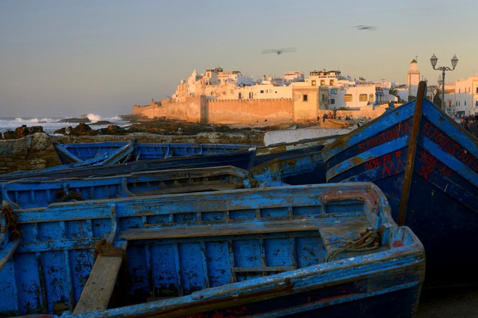 H tel l 39 heure bleue essaouira maroc for Club piscine granby 960 rue principale
