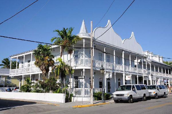 Old Town is the name of the town's historic district, which is famous for the unusual architecture of its houses.