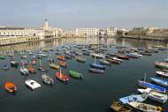 Built in 1974, the marina of Sidi Fredj is the only marina in Algeria.