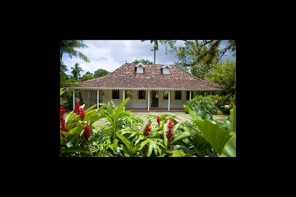 Le musée régional d'Histoire et d'Ethnographie de la Martinique est installé dans une belle maison bourgoise du 19e siècle.