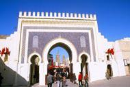 Fez es una ciudad imperial. Es el centro religioso de Marruecos, y tiene una arquitectura notable.