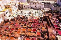 Ubicada entre las tierras fértiles del Saïs y los bosques del Mediano Atlas, Fez es la más antigua de las ciudades imperiales y la capital cultural de Marruecos. Con dos días podrás descubrirla a fondo. Pero conviene ser organizado y pasear con mapa ya que la medina, una de las más grandes del mundo árabe, se convierte en un laberinto cuando te alejas de las arterias principales.  Empieza recorriendo ...