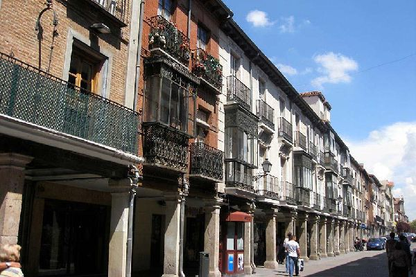 Es la calle principal de Alcalá de Henares desde el siglo XII. En el número 48 se encuentra la casa natal de Miguel de Cervantes, actualmente convertida en museo.