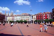 Burgos è una tappa importante sul sentiero di Santiago di Compostela.