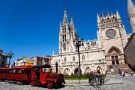 La cattedrale è l'attrazione turistica principale di Burgos