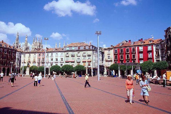 Burgos ist eine wichtige Etappenstadt auf dem Jakobsweg.