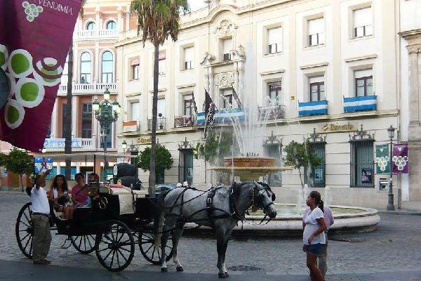 Celebre per i suoi vini, i suoi brandy e il suo aceto, Jerez de la Frontera ospita anche la Scuola Reale di Arte Equestre di Andalusia.