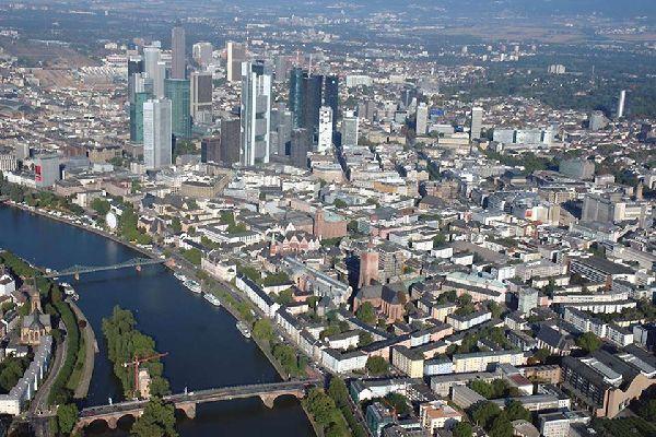 Frankfurt ist weltweit bekannt für seinen Finanzcenter