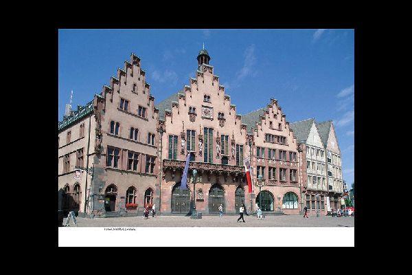 Frankfurt hat eine Altstadt und einen modernes Zentrum zu bieten.