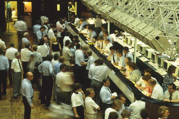 La bourse de Francfort est connue dans le monde entier.