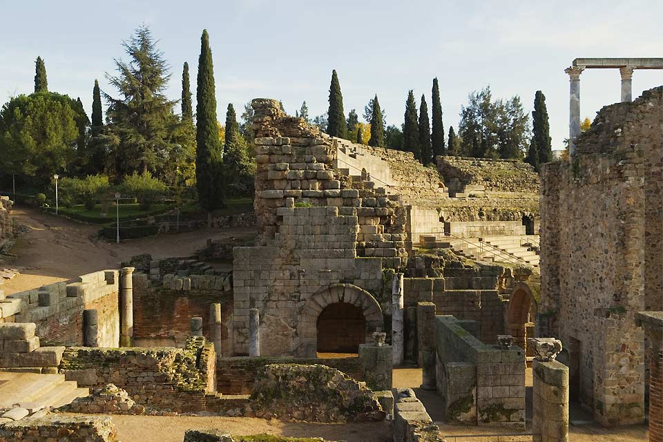 The Merida province was strongly marked by the Roman era.