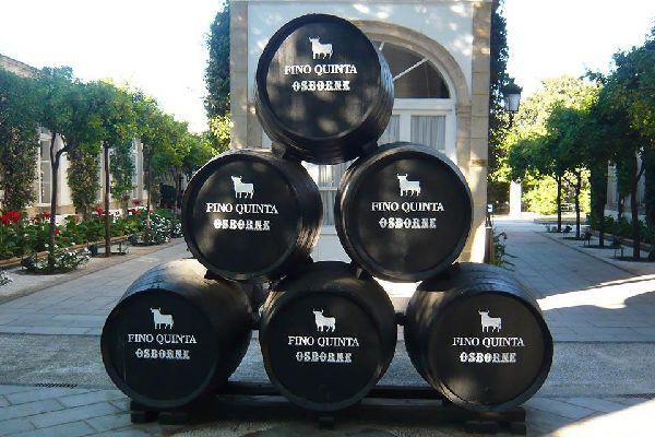 La plus connue des marques de vin Jerez, dont l'emblème est un taureau.