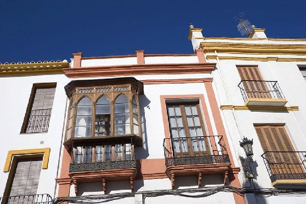Imagen de una casa de pueblo en Ronda.
