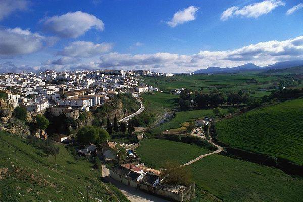 El entorno natural de la ciudad de Ronda es espectacular.