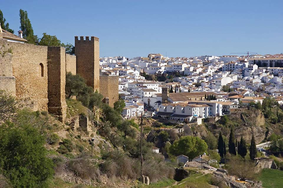 This town, one of the oldest in Spain, was built on a rock.
