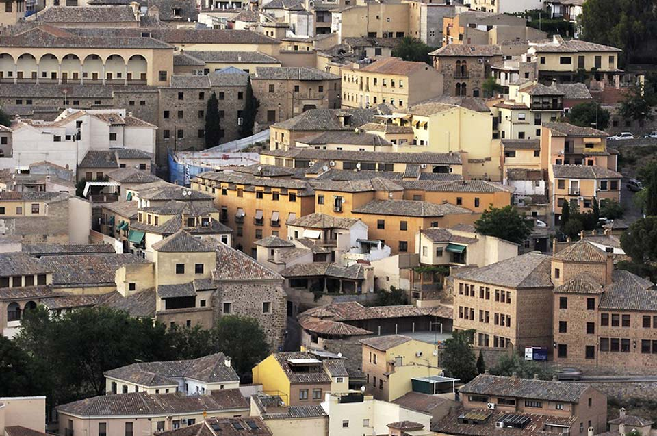 Homes, churches, synagogues, mosques, monasteries, walls, bridges and towers.