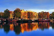 Amsterdam est tout particulièrement réputée pour la beauté de ses canaux.