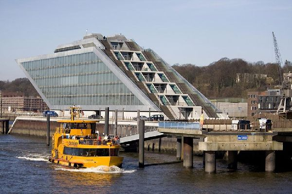 Hamburg's port is welcoming an increasing number of cruise ships.