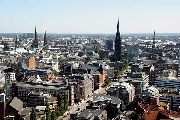 The Nordic architectural influences in Hamburg are obvious.