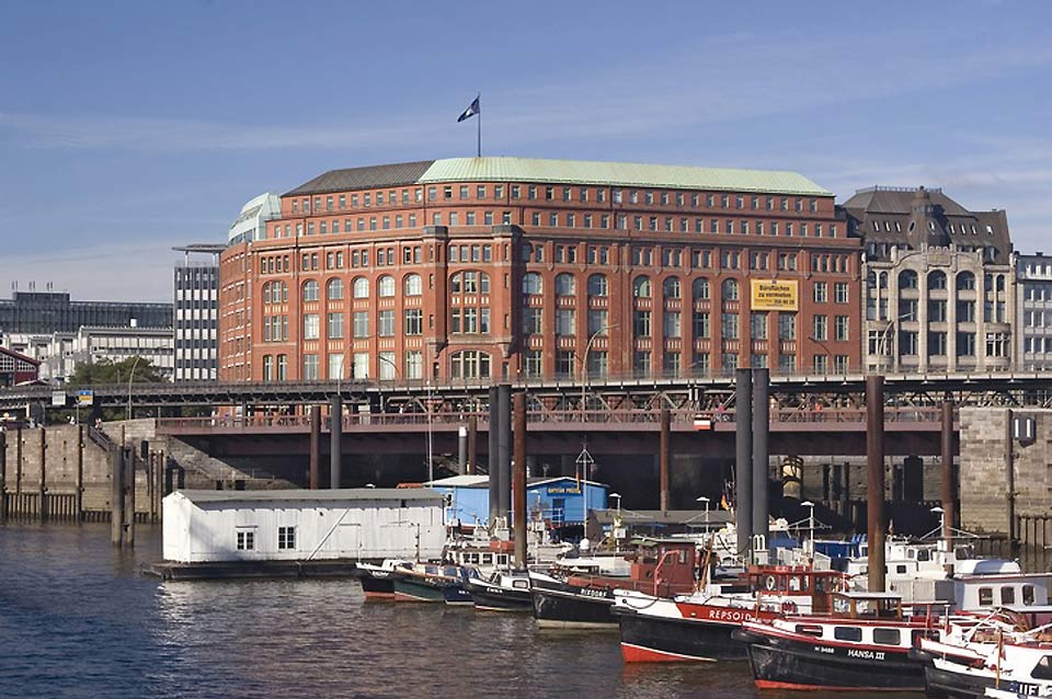 Hamburg's seaport is the largest in Germany.