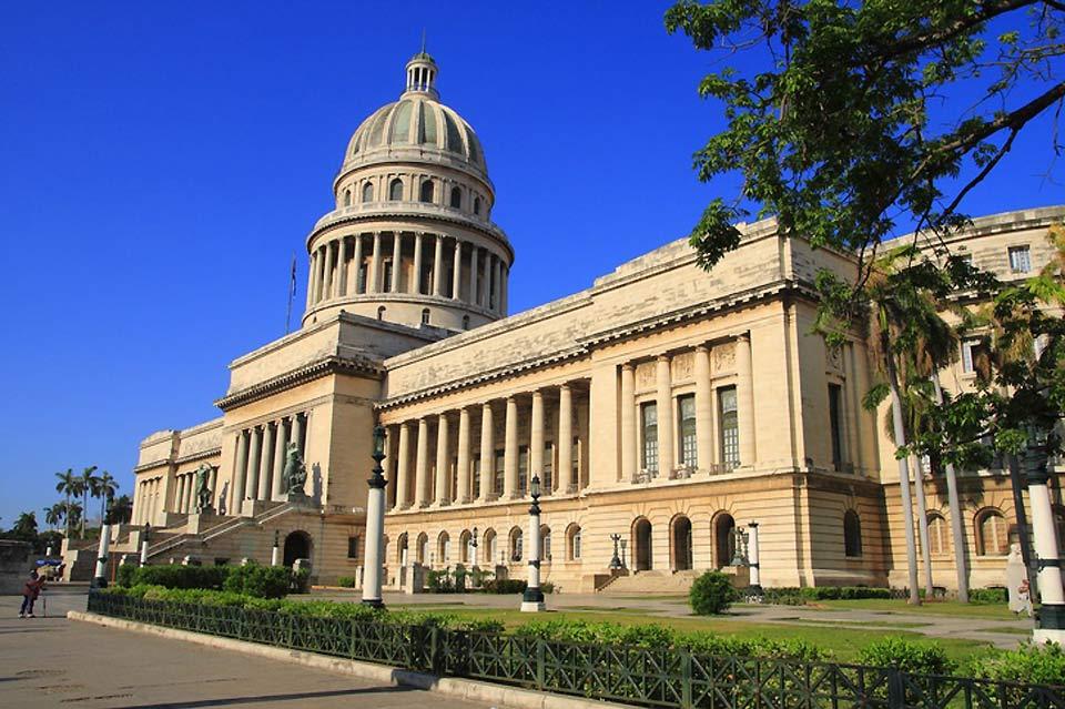 """Inaugurato nel 1929, """"El Capitolio"""" fu sede del governo prima della rivoluzione del 1959."""