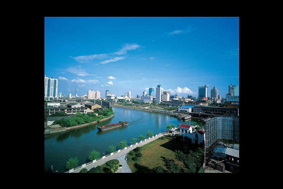 The tourism capital of China.