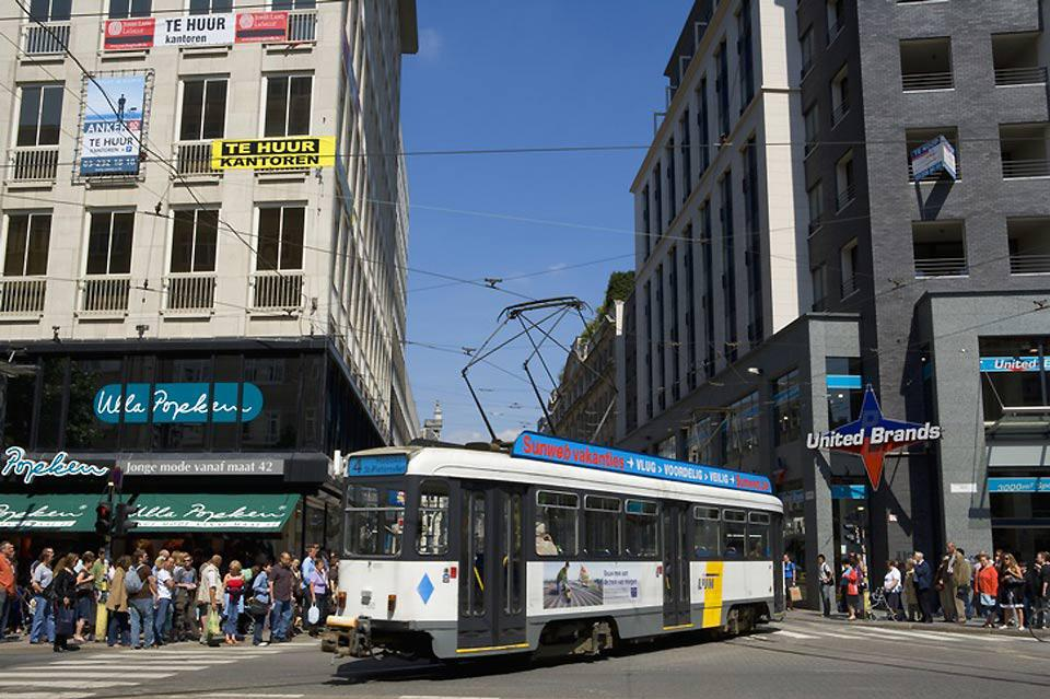 Thanks to the network of trams with 12 lines, it is easy to get around the city.