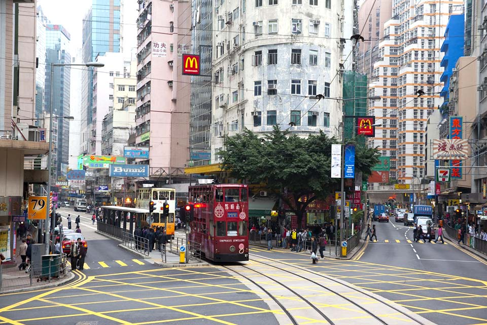 In a city where the population is dense, the trams have been winding around the liveliest streets since 1904. An excellent way of getting around easily.