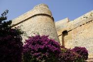 Deux portes fortifiées permettent d'accéder au sommet de la vieille cité offrant de superbes points de vue sur la ville et le port.