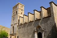 Protégée par les remparts, elle domine la citadelle d'Eivissa, classée par l'Unesco.