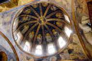 The Deesis mosaic is a wonderful example of Byzantine art, seen at the Hagia Sophia museum