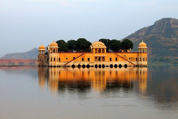 Jaipur : Jal Mahal, India - India
