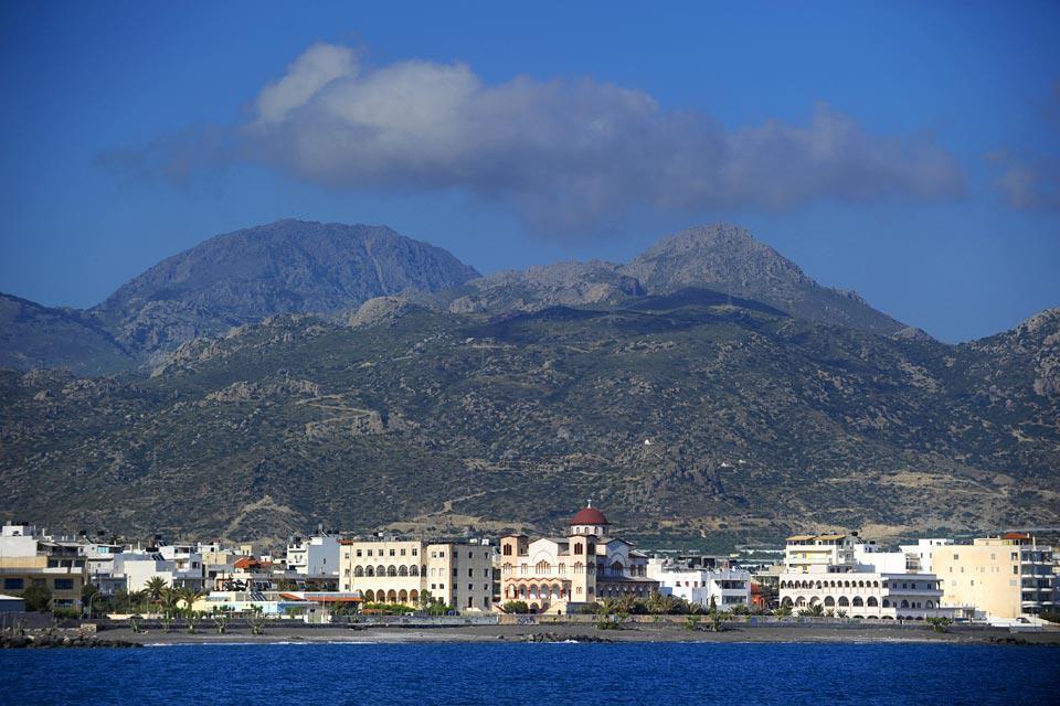 Si Ierapetra est la ville la plus au sud de l'Europe, elle jouit aussi d'un ensoleillement exceptionnel.