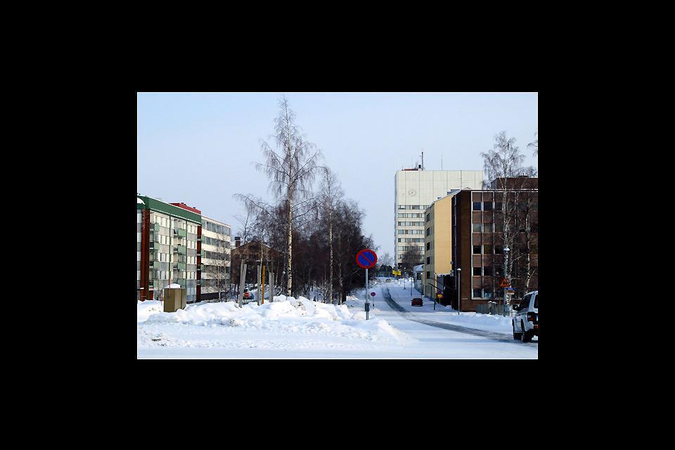 La ville de Kemi se situe dans le golfe de Botnia, en Laponie.