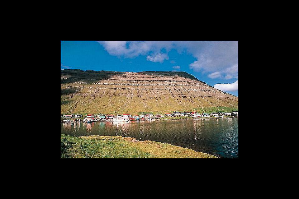 Klaksvik is located on Bordoy Island and is the second largest town in the Faroe Islands. There is a large fishing port here.