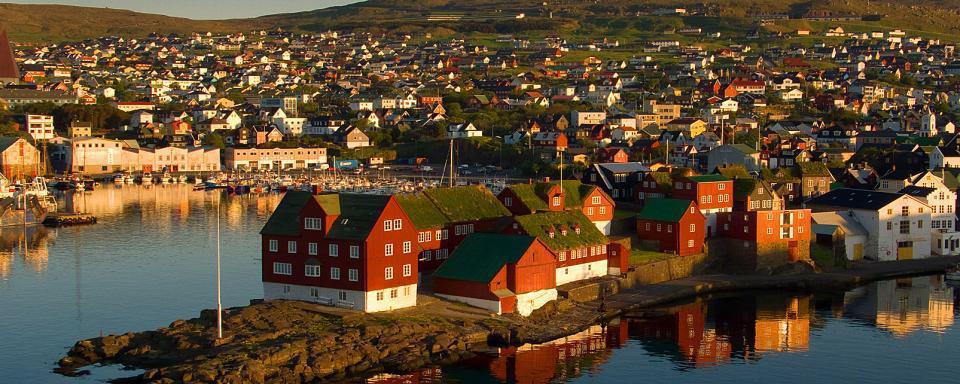 Europe; Iles Féroé; Thorshavn;