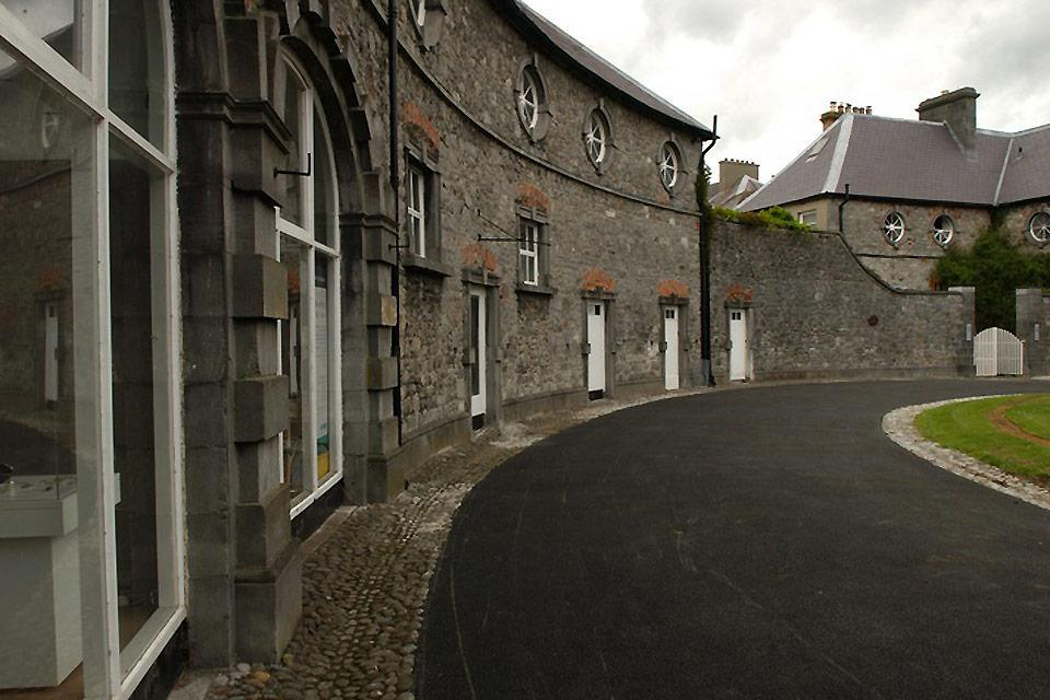 The many medieval buildings which have survived in Kilkenny have earned it the nickname of 'Marble city', although in reality this black stone is not made of marble