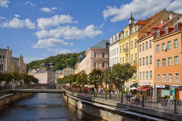 The city of Karlovy Vary was named after King of Bohemia and Holy Roman Emperor Charles IV, who founded the city in 1370.